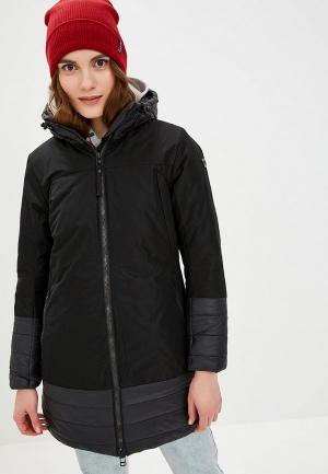 Куртка утепленная Helly Hansen W MAYEN COAT. Цвет: черный