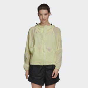 Ветровка W.N.D. adidas. Цвет: желтый