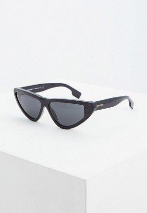 Очки солнцезащитные Burberry BE4292 300187. Цвет: черный