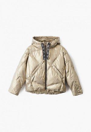 Куртка утепленная Baon. Цвет: золотой