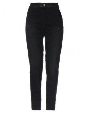 Джинсовые брюки FUEGO WOMAN. Цвет: черный