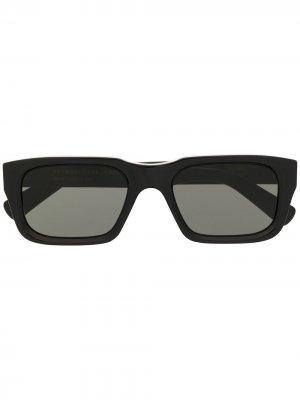 Солнцезащитные очки Augusto в квадратной оправе Retrosuperfuture. Цвет: черный