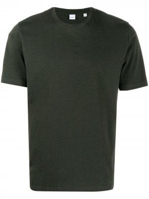 Базовая футболка Aspesi. Цвет: зеленый