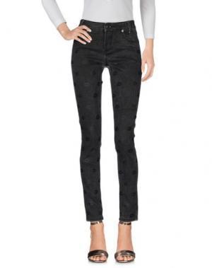 Джинсовые брюки AMERICAN RETRO. Цвет: свинцово-серый
