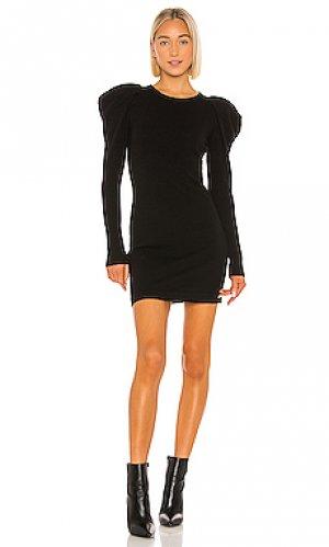 Вязаное платье Autumn Cashmere. Цвет: черный