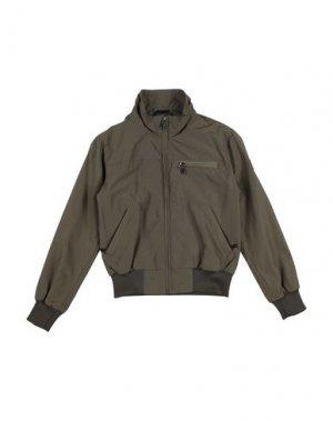 Куртка CANADIENS. Цвет: зеленый-милитари