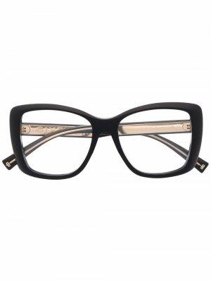 Oversized frame glasses Givenchy Eyewear. Цвет: черный