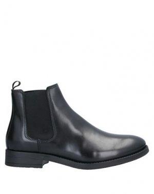 Полусапоги и высокие ботинки JACK & JONES. Цвет: черный