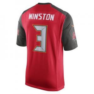 Мужское джерси в расцветке домашней формы NFL Tampa Bay Buccaneers (Jameis Winston) Nike