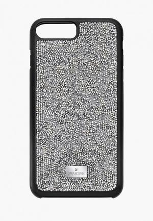 Чехол для iPad Swarovski® 7 PLUS GLAM ROCK. Цвет: серебряный