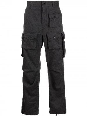 Брюки карго Engineered Garments. Цвет: серый
