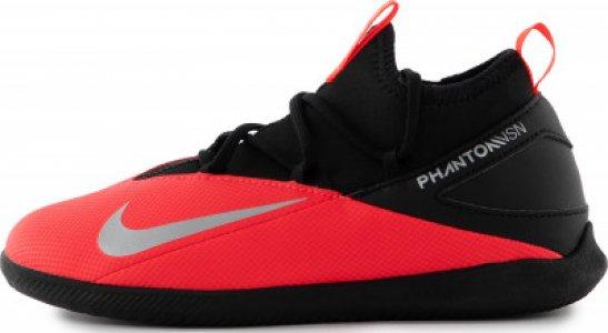 Бутсы для мальчиков Phantom Vision 2 Club Dynamic Fit IC, размер 34.5 Nike. Цвет: красный