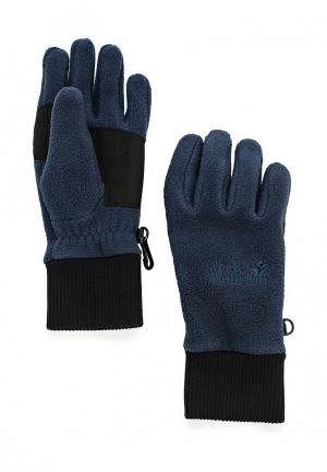 Перчатки Jack Wolfskin VERTIGO GLOVE. Цвет: синий