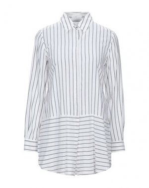 Pубашка GERRY WEBER. Цвет: белый
