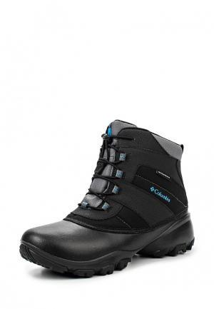 Ботинки Columbia YOUTH ROPE TOW™ III WATERPROOF Kids boots. Цвет: черный