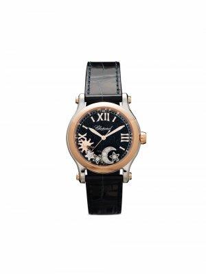 Наручные часы Happy Sport 30 мм Chopard. Цвет: синий