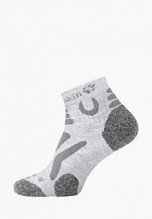 Носки Jack Wolfskin HIKING PRO LOW CUT. Цвет: серый