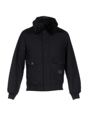 Куртка FRESHJIVE. Цвет: темно-синий