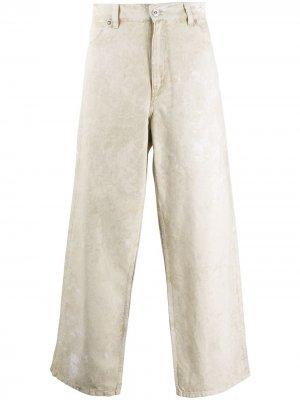 Прямые джинсы Wax Coat Our Legacy. Цвет: коричневый