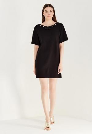 Платье Boutique Moschino BO036EWUFP33. Цвет: черный