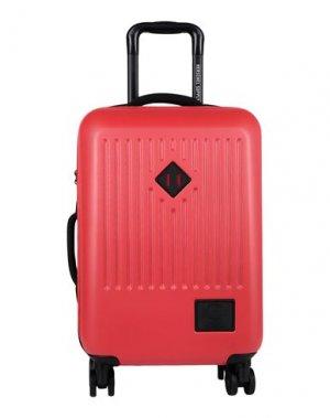 Чемодан/сумка на колесиках HERSCHEL SUPPLY CO.. Цвет: красный