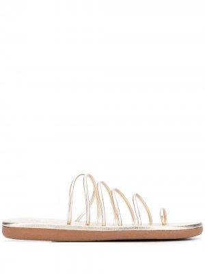 Босоножки Sani 20 Ancient Greek Sandals. Цвет: золотистый