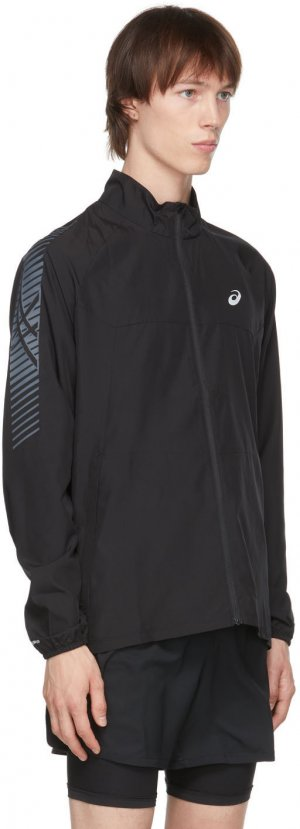 Black Icon Jacket Asics. Цвет: 001 black