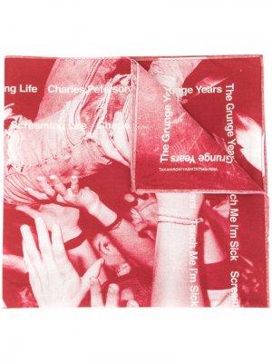 Бандана Grunge Years Takahiromiyashita The Soloist. Цвет: красный