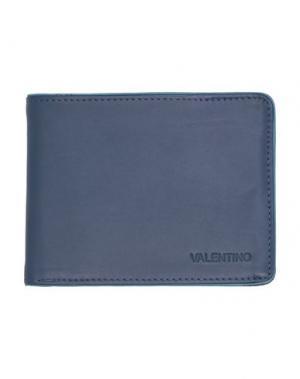 Бумажник MARIO VALENTINO. Цвет: темно-синий