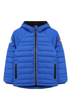 Куртка с капюшоном PBI Bobcat Canada Goose. Цвет: синий