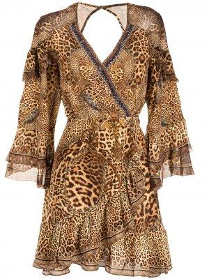 Платье Lady Lodge Camilla. Цвет: коричневый