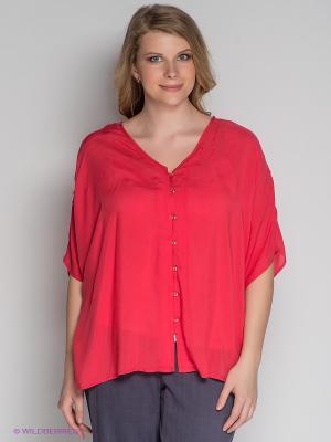 Блузка ARDATEX. Цвет: коралловый