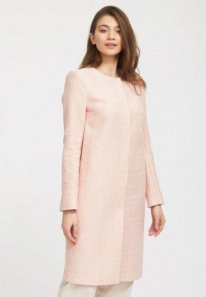 Пальто Charuel. Цвет: розовый