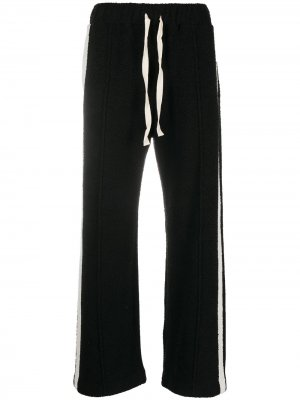 Спортивные брюки с кулиской Casablanca. Цвет: черный