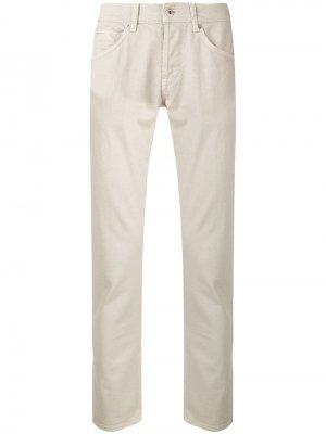 Классические брюки кроя слим Dondup