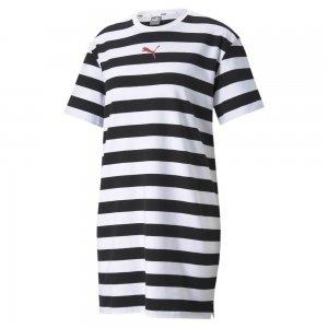 Платье Summer Stripes Printed Womens Dress PUMA. Цвет: черный