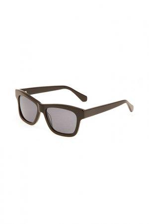 Очки солнцезащитные Enni Marco. Цвет: черный, коричневый