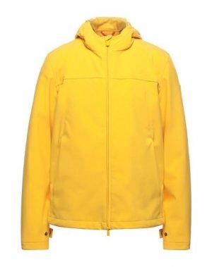 Куртка CIESSE PIUMINI. Цвет: желтый