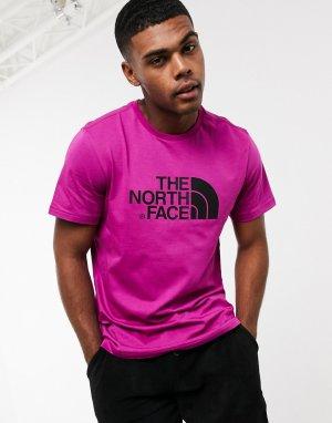 Фиолетовая футболка Easy-Фиолетовый The North Face