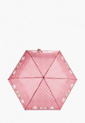 Зонт складной Braccialini. Цвет: бордовый