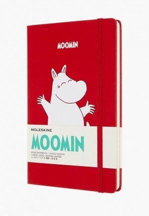 Блокнот Moleskine LIMITED EDITION MOONIM. Цвет: красный