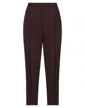 Повседневные брюки AKRIS. Цвет: баклажанный
