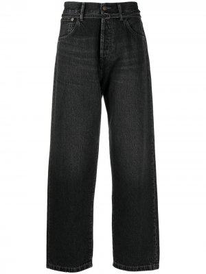Широкие джинсы 1991 Toj Acne Studios. Цвет: черный