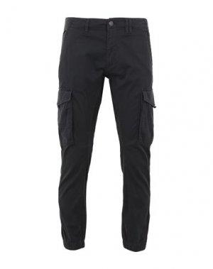 Повседневные брюки JACK & JONES. Цвет: черный