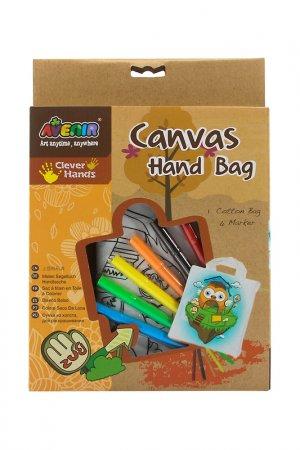 Набор для раскрашивания сумки Avenir. Цвет: коричневый