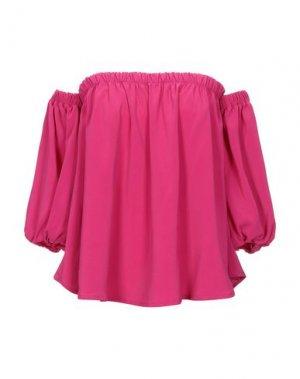 Блузка ALESSANDRO LEGORA. Цвет: светло-фиолетовый