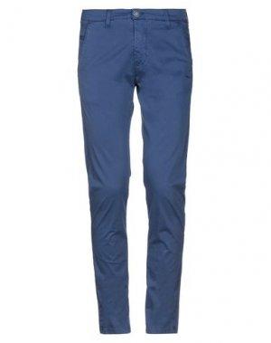 Повседневные брюки EXCLUSIVE. Цвет: синий