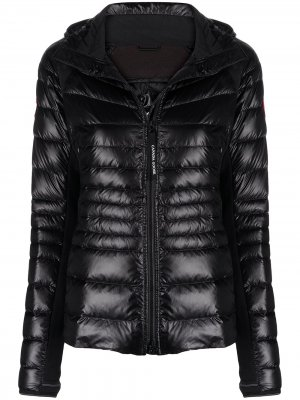 Куртка HyBridge® Lite с капюшоном Canada Goose. Цвет: черный