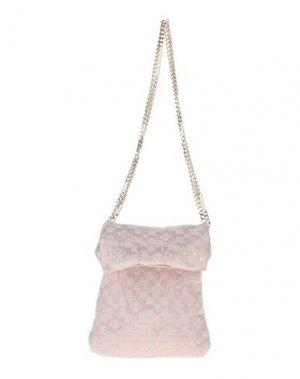 Сумка на плечо LESY. Цвет: светло-розовый