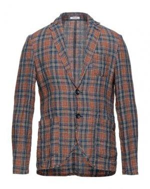 Пиджак OFFICINA 36. Цвет: коричневый